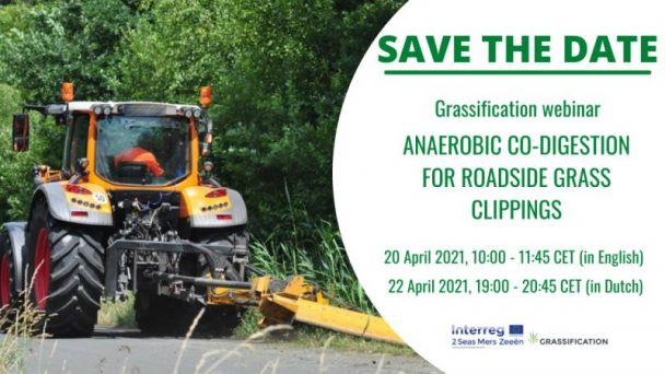Grassification webinar on anaerobic co-digestion for roadside grass clippings